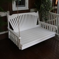 Furniture Barn USA™ Pine Fanback Swing Bed