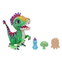 furReal Munchin' Rex Baby Dino Pet, 35+ sound and motion combinations