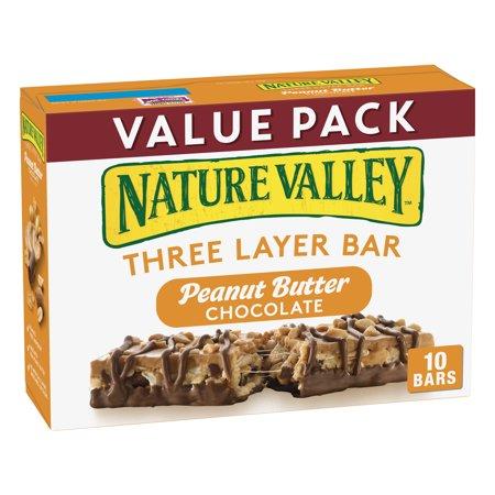 Nature Valley Peanut Butter & Chocolate Granola Nut Bars 13.8 (Chocolate Net)