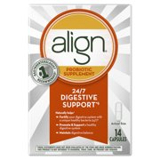 Align Probiotics, Probiotic Supplement for Daily Digestive Health, 14 capsules, #1 Recommended Probiotic by Gastroenterologists
