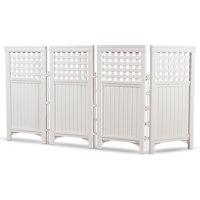 Suncast Outdoor Screen Enclosure, White, FS4423