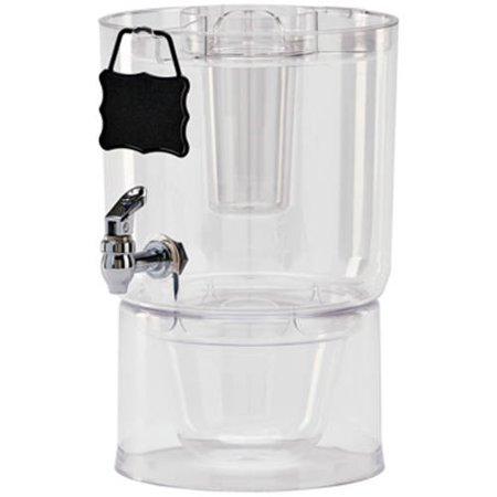 Halloween Beverage Dispenser (Buddeez 1.75 Gallon Party Clear Beverage)