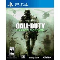 Call of Duty: Modern Warfare Remastered, Activision, PlayStation 4, 047875880740