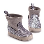 46837b14af53 Baby Girl Glitter Snow Boots Winter Booties Infant Toddler Newborn Shoes  0-18M