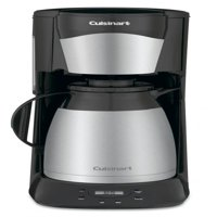 Cuisinart 12-Cup Programmable Thermal Coffeemaker, Black Stainless