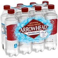 Arrowhead Simply Bubbles Sparkling Water, 16.9 Fl. Oz., 8 Count