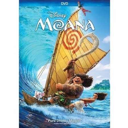 Moana (DVD) (List Of Halloween Movies For Kids)