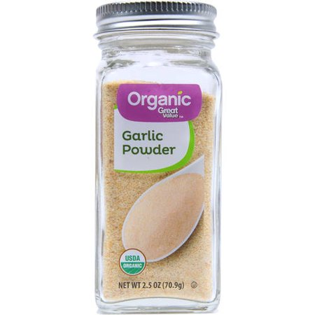(3 Pack) Great Value Organic Garlic Powder, 2.5 oz (Simply Organic Garlic)