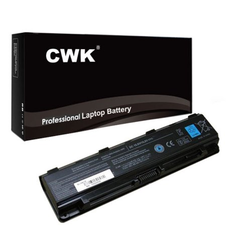 CWK® High Performance NEW Battery for Toshiba Part Number PA5024U-1BRS Laptop Notebook Netbook Computer - 6cells 4400 mAh Satellite L850 Series battery w/ 24 Months Warranty ()