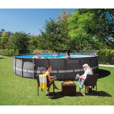Intex 22 39 x 52 ultra xtr frame above ground pool set w - Intex 18 x 9 x 52 ultra frame swimming pool ...