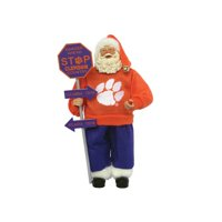 Santa's Workshop NCAA Country Claus Figurine