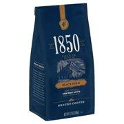 1850 Black Gold, Dark Roast Ground Coffee, 12-Ounce