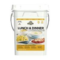 Augason Farms Lunch & Dinner Emergency Food Supply Storage Pail, 11.07 lbs