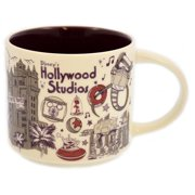 ae21c23d0b2 Disney Parks Starbucks Been There Hollywood Studios Coffee Mug New with Box