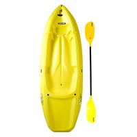 Deals on Lifetime Yellow Youth Wave Kayak with Paddles