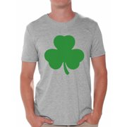 0a6e6d11 Awkward Styles Irish Clover Shirt St. Patricks Day T Shirt for Men Lucky  Shamrock Shirt