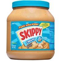 Skippy Creamy Peanut Butter, 64 Ounce