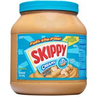 (2 Pack) Skippy Creamy Peanut Butter, 64 Ounce
