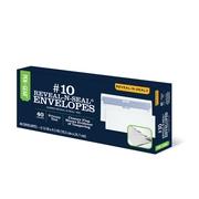 Pen+Gear #10 Reveal-N-Seal Tamper Indicating Closure Security Tint Envelope, 40 CT (60753)