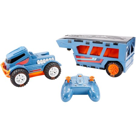 Hot Wheels R C Trick Truck Transforming Stunt Park Vehicle Walmart Com