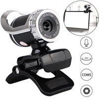 EEEKit USB 2.0 Webcam Clip-on,12.0 Megapixels Digital Video HD Web Camera with Built-in Sound Absorption Microphone for Desktop PC Laptop Skype