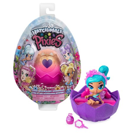 Hatchimals Pixies, 2.5-Inch Collectible Doll and Accessories (Styles May Vary), for Kids Aged 5 and Up ()
