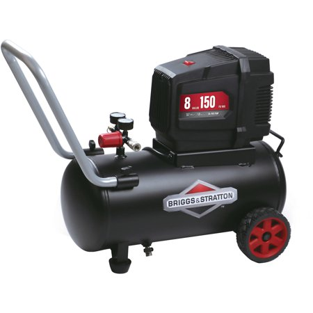 Briggs & Stratton 8 Gallon Hotdog Oil-free Air