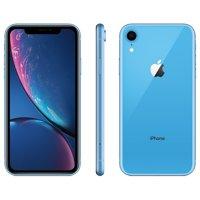 Straight Talk Apple iPhone XR w/64GB Prepaid Smartphone, Black