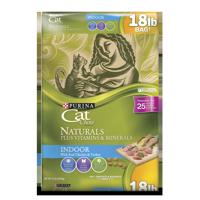 Cat Chow Naturals Indoor Plus Vitamins & Minerals (Various Sizes)