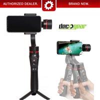 Deco Gear Gimbal Stabilizer w/ Face Tracking for Android & iPhone Cell Phones