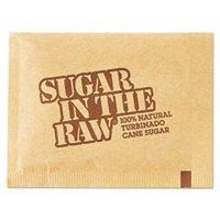 OFFICE SNAX, INC. 827749 Sugar Packets, Raw Sugar, 0.18 oz Packets, 500 per Carton