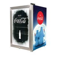 Nostalgia BC24COKE Coca-Cola 80-Can Limited Edition Commercial Beverage Cooler