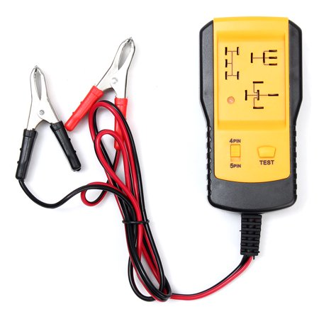 Electronic Automotive Relay Tester for LED 12V Cars Auto Battery Checker Digital Multimeter Specialties Voltage Load Test System Testing Tool Buddy Kit