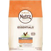 NUTRO WHOLESOME ESSENTIALS Senior Dry Dog Food Farm-Raised Chicken, Brown Rice & Sweet Potato Recipe, 15 lb. Bag