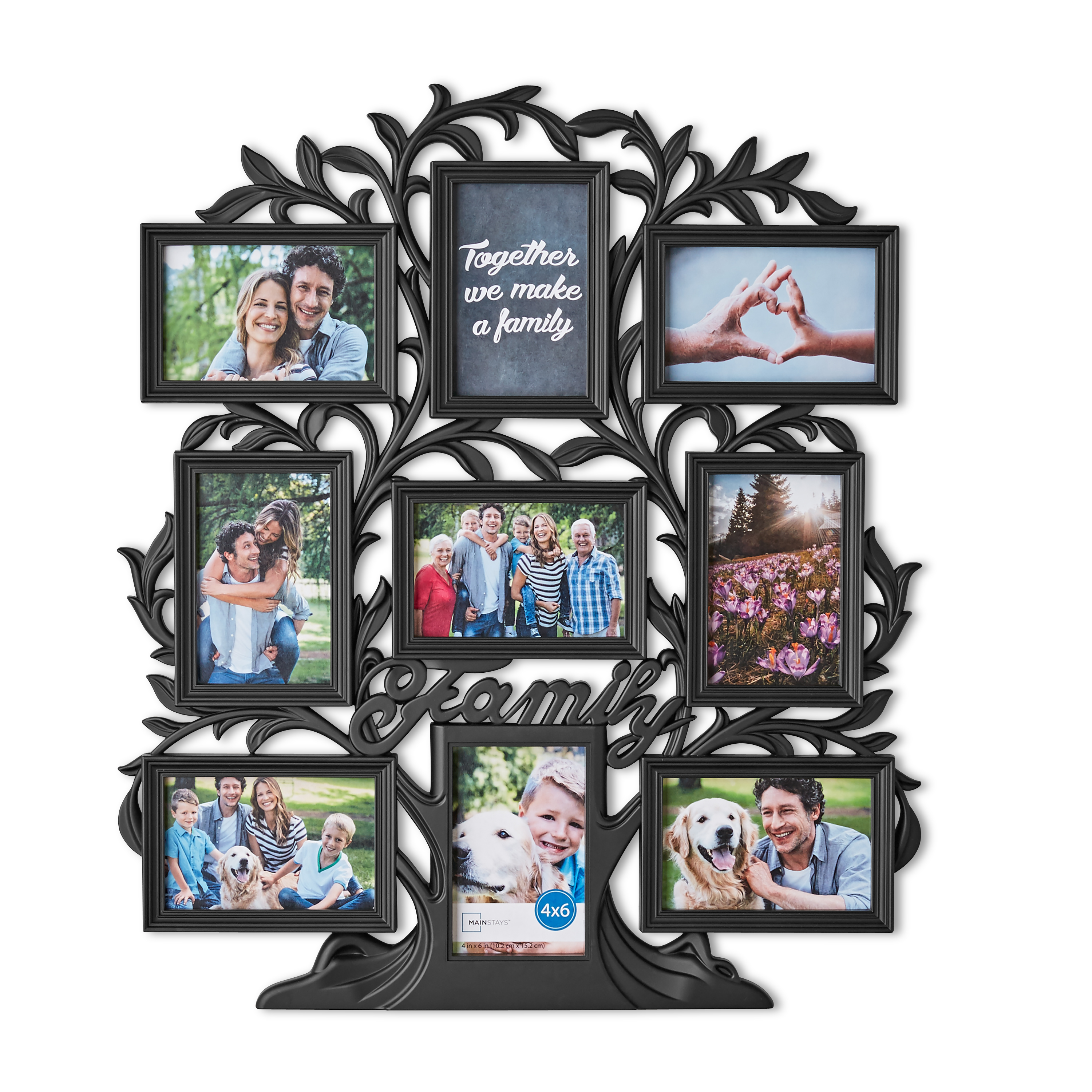 Family Tree Photo Collage Frames