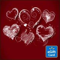 Sketchy Heart Walmart eGift Card