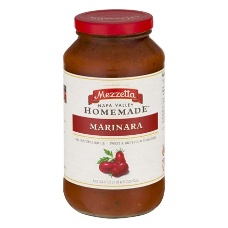 Mezzetta Napa Valley Homemade Sauce Marinara, 24.5 (Valley Pasta)