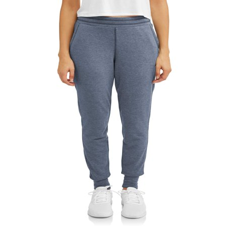 - Women's Active French Terry Contrast Trim Jogger Pant