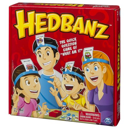 ASST Hedbanz – Guessing Game for Kids and Adults - Adult Carnival Games