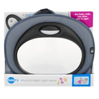 Safe Fit Musical Night Light Mirror, 1.0 CT
