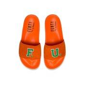 6f29caeb391c Womens Puma x Fenty By Rihanna Leadcat FU Slide Orange Green Black Whi