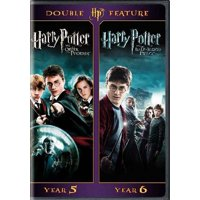 Harry Potter Double Feature (The Order Of The Phoenix / The Half-Blood Prince) (DVD)