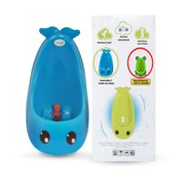 Cuddle Baby Generation 2 Boy Urinal Potty Toilet Training with Free Potty Training Game