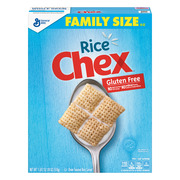 Rice Chex Cereal, Gluten-Free Breakfast Cereal, 18 oz Box