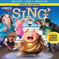 Sing (2016) (Special Edition) (Blu-ray + DVD + Digital HD)
