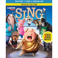 Sing (2016) (Special Edition) (Blu-ray + DVD + Digital HD)