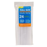 AdTech Multi-Temp Full-Size Glue Sticks for Crafting, DIY, and Home Repair | 24-Count