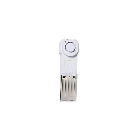 Black Cat Door Stop - SIRE Wedge Door Stop Security Alarm with 120 dB Siren - Great for Home, Travel, Apartment or Dorm
