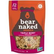 (2 Pack) Bear Naked Non-GMO Granola, Triple Berry, 12 Oz