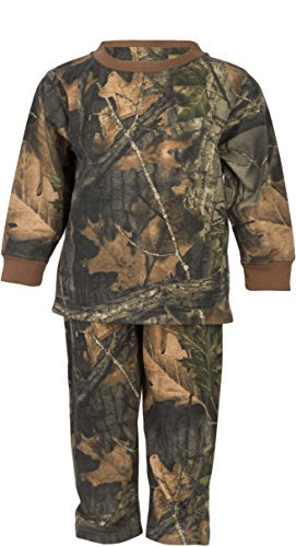 - Infant - Toddler Cotton Camo Long Sleeve T-Shirt and Long Pants Set